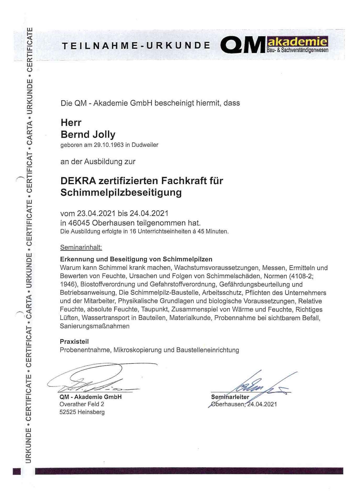 Teilnahme-Urkunde_Ausbildung